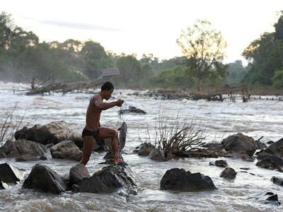 Lào vẫn tiếp tục xây dựng thủy điện Don Sahong