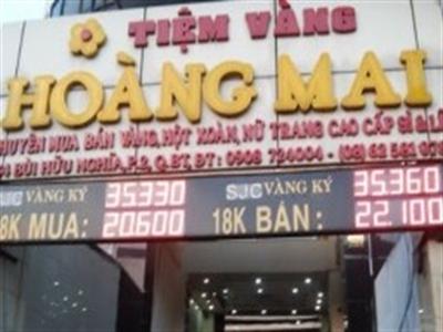 Tiệm vàng Hoàng Mai: Đổi 100 USD, phạt 400 triệu đồng