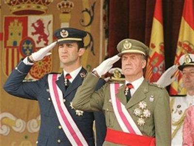 Nhà Vua Tây Ban Nha chính thức thoái vị