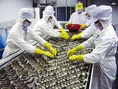 Xuất khẩu thủy sản sang Trung Quốc vẫn