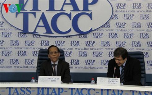 Họp báo tại Nga thông báo quan điểm của Việt Nam về Biển Đông