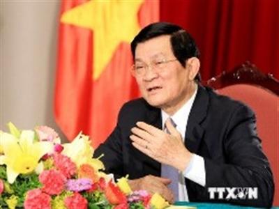 Chủ tịch nước trả lời phỏng vấn về Biển Đông