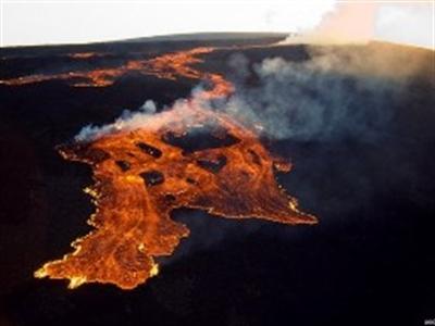 Núi lửa lớn nhất thế giới ở Hawaii có dấu hiệu thức giấc