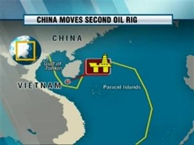 Hôm nay giàn khoan Nam Hải 9 sẽ vào sát vùng biển của Việt Nam