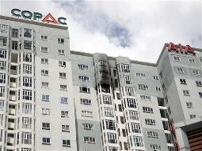Cháy chung cư Copac Square TPHCM
