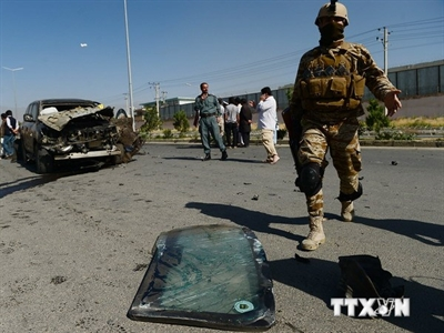 Giao tranh ác liệt giữa lực lượng an ninh Afghanistan và Taliban
