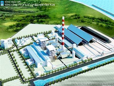 Chính phủ bảo lãnh vay cho dự án Nhiệt điện Dầu khí Thái Bình 2
