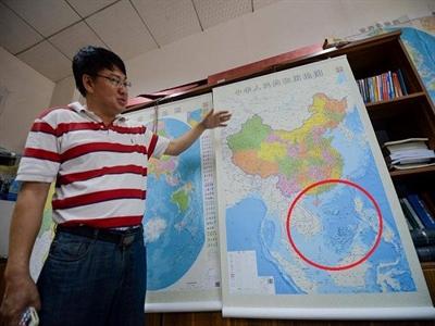 """Trung Quốc phát hành bản đồ """"nuốt chửng"""" Biển Đông"""