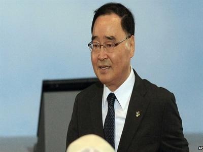 Ông Chung Hong Won được giữ lại làm thủ tướng Hàn Quốc