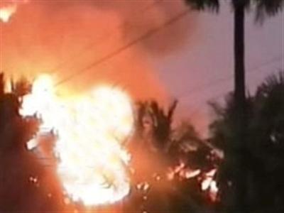 Nổ đường ống dẫn khí ở Ấn Độ, 14 người chết cháy