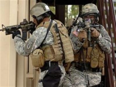 Đặc nhiệm Mỹ đổ bộ xuống Iraq