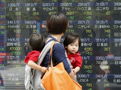 Chứng khoán châu Á lên cao nhất 6 năm sau báo cáo Tankan