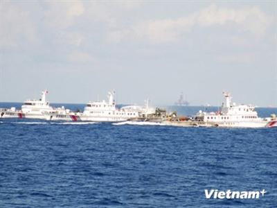 Trung Quốc dùng lực lượng tàu lớn ngăn cản tàu Việt Nam