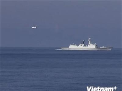 Máy bay trinh sát Mỹ xuất hiện ở khu vực giàn khoan Trung Quốc