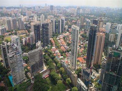 Giá nhà Singapore giảm liên tiếp 3 quý