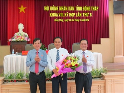 Đồng Tháp có tân Chủ tịch tỉnh