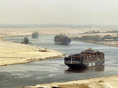 Ai Cập: Nguồn thu từ kênh đào Suez đạt kỷ lục