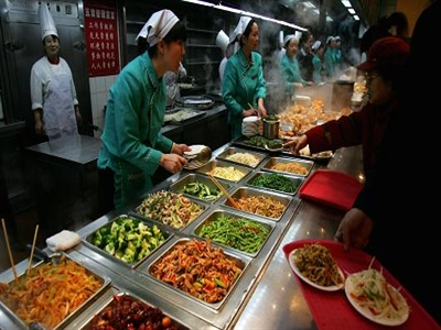 Lĩnh vực dịch vụ Trung Quốc bùng nổ trong tháng 6