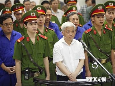 Vụ án bầu Kiên: Tổng số 6 bị cáo làm đơn kháng cáo