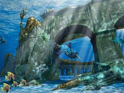 Xây dựng công viên dưới nước lớn nhất thế giới ở Dubai