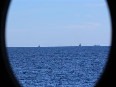 Tàu Trung Quốc hoạt động bất thường