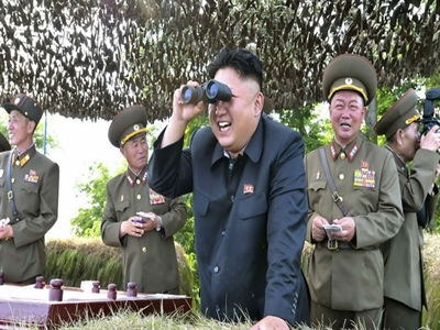 Ông Kim Jong Unđích thânchỉ đạo tập trận quy mô lớn