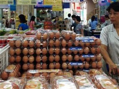 Trứng gia cầm đồng loạt tăng giá mạnh