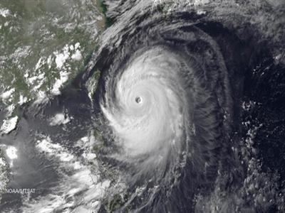 Siêu bão Neoguri tấn công Okinawa, 4 người bị thương, 1 người mất tích