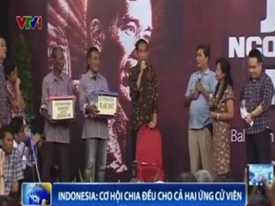 Bầu cử Tổng thống Indonesia: Cơ hội chia đều cho cả hai ứng cử viên