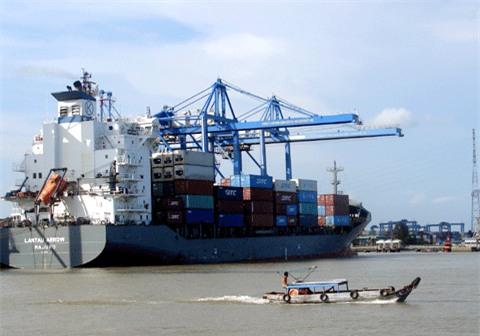 Cảng Cát Lái đang quá tải do ùn ứ container