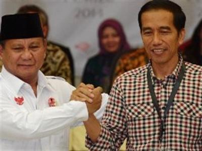 Bầu cử Indonesia: Cả hai ứng cử viên đều tuyên bố thắng cử