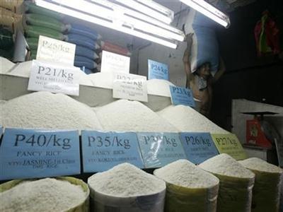 Philippines hủy bỏ mục tiêu tự cung tự cấp 100% lúa gạo vào năm 2016