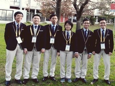 Việt Nam đoạt 3 huy chương vàng toán quốc tế
