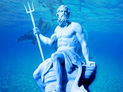 Thần Poseidon ở Trung Quốc