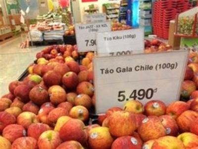 Lotte Mart lên tiếng vụ bán táo Mỹ rẻ hơn táo Trung Quốc