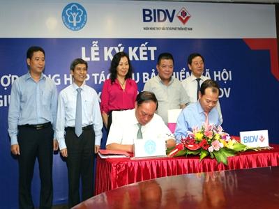 BIDV ký kết hợp tác thu, thu nợ bảo hiểm với Bảo hiểm Xã hội Việt Nam