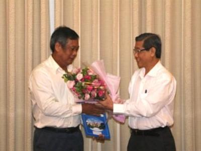 TP.HCM bổ nhiệm ông Nguyễn Thành Chung làm Giám đốc Sở Giao thông vận tải