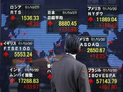 Chứng khoán châu Á đi ngang sau số liệu GDP Trung Quốc