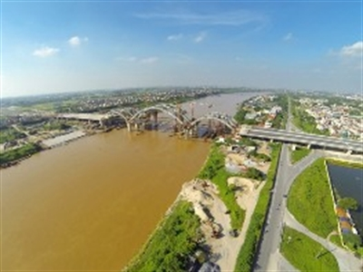 Khánh thành cầu vòm ống thép đầu tiên tại Việt Nam trên sông Đuống vào tháng 10