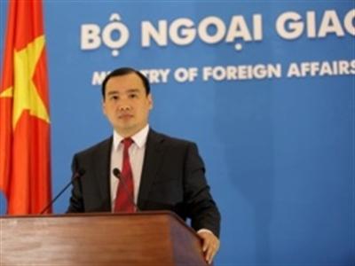 Việt Nam yêu cầu Trung Quốc không đưa giàn khoan trở lại