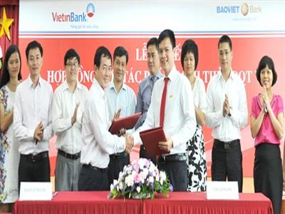 BAOVIET Bank và VietinBank hợp tác phát hành thẻ Visa