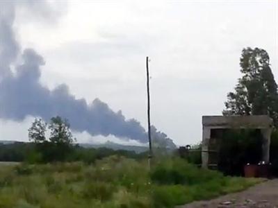 Video máy bay của Malaysia Airlines rơi tại Ukraine