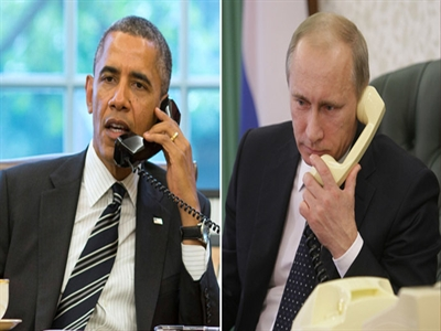 Putin điện đàm với Obama về vụ tai nạn máy bay