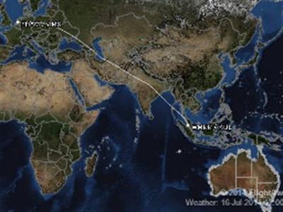 Hành trình bay kỳ lạ của MH17