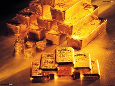 Giá vàng giảm do nhà đầu tư chốt lời