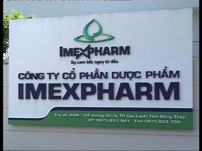 Imexpharm đạt 37% kế hoạch lợi nhuận trước thuế trong 6 tháng