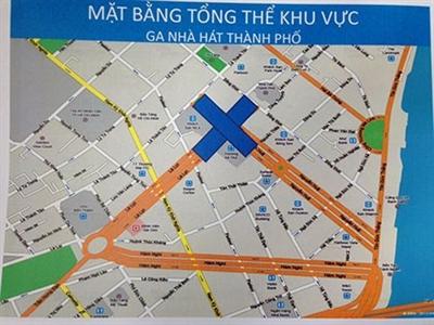 Xây ga ngầm đầu tiên sâu 40m của tuyến Metro Bến Thành-Suối Tiên