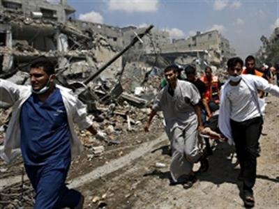 Hơn 100 người thiệt mạng trong một ngày đẫm máu ở Dải Gaza