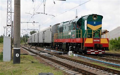 Chuyến tàu chở thi thể nạn nhân vụ MH17 đến Kharkov an toàn