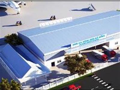 Sắp khai thác ga hàng hóa mới Cảng HKQT Đà Nẵng